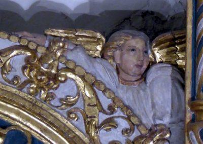 Retablo Asunción Santa María (Markina - Xemein) putti